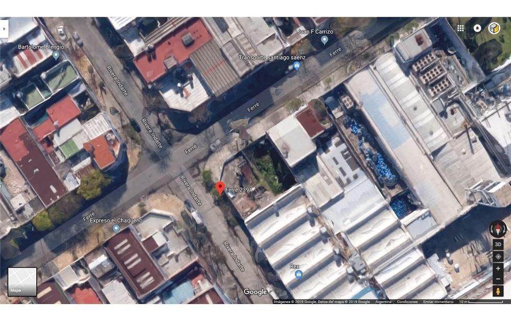 terreno lote en venta para galpón  villa soldati