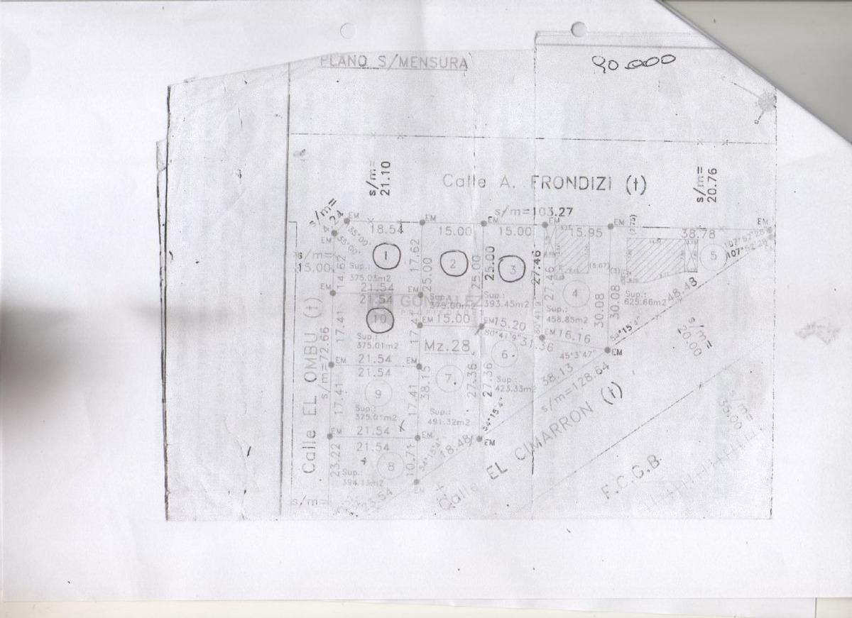 terreno lote  en venta ubicado en fátima, pilar y alrededores