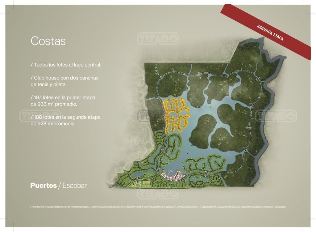 terreno lote  en venta ubicado en puertos, escobar y alrededores