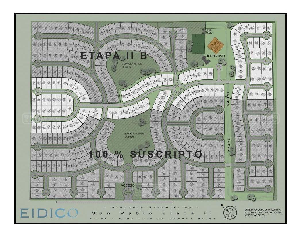 terreno lote  en venta ubicado en san pablo, pilar y alrededores