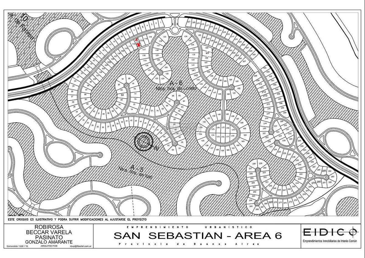 terreno lote  en venta ubicado en san sebastian - area 6, escobar y alrededores
