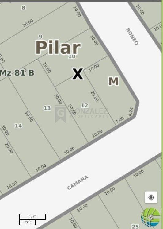 terreno lote  en venta ubicado en villa rosa, pilar y alrededores