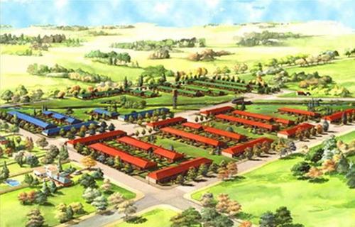 terreno más construcción   uf 21 barrio campos verdes escobar