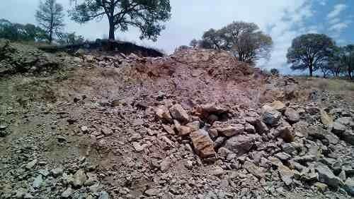 terreno mina de pétreos y uso agricola 32 hectáreas