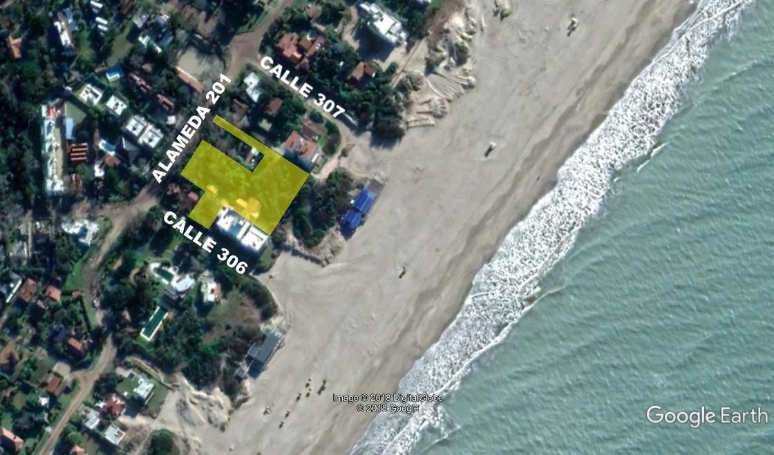 terreno multifamiliar hotelero frente al mar - barrio norte