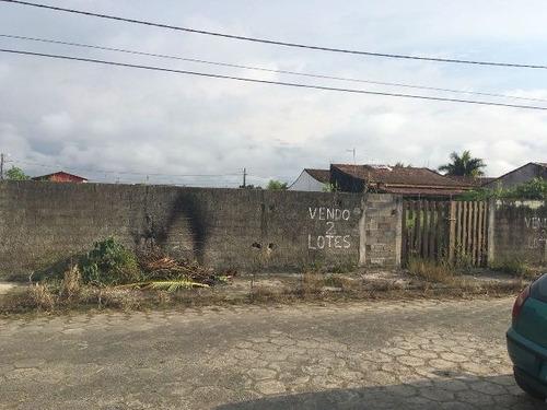 terreno murado com escritura e 520 m², itanhaém - ref 4517-p