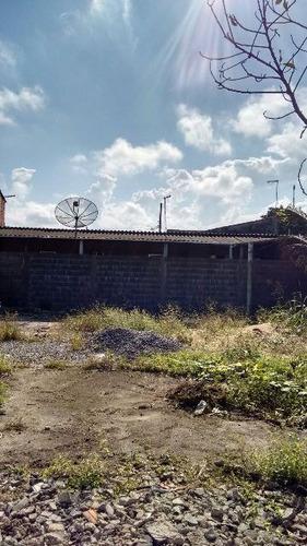 terreno murado de esquina em itanhaém-sp - ref 4362-p