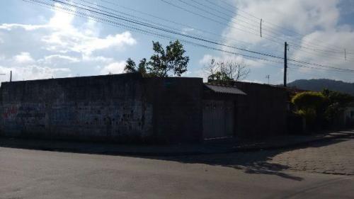 terreno murado de esquina no nova itanhaém, em itanhaém