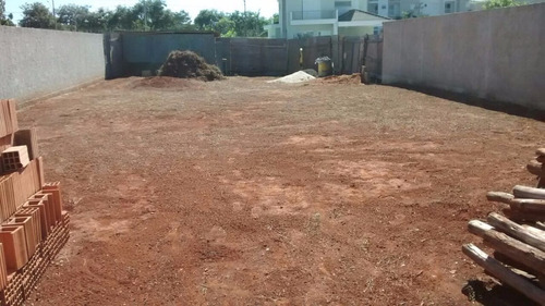 terreno murado e com projeto aprovado paulínia, te0x20