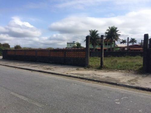 terreno murado em frente ao mar, itanhaém-sp! 463 m²