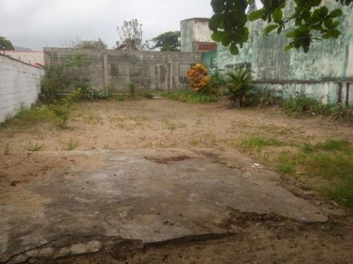 terreno murado em mongaguá, com 420 m² - 4528/p