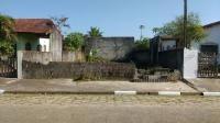 terreno murado na frente, no jardim jamaica, em itanhaém