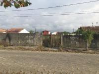 terreno murado no balneário são jorge, em itanhaém