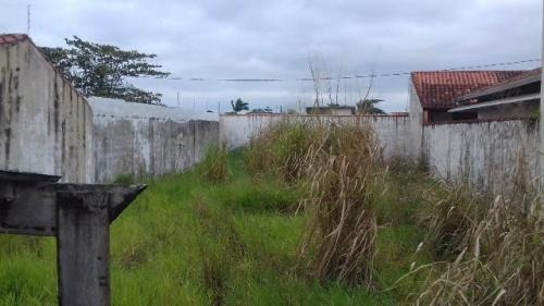 terreno murado no jardim bopiranga, em itanhaém