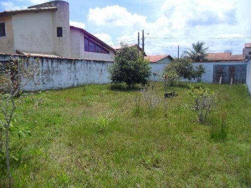 terreno murado no parque augustus, em itanhaém,