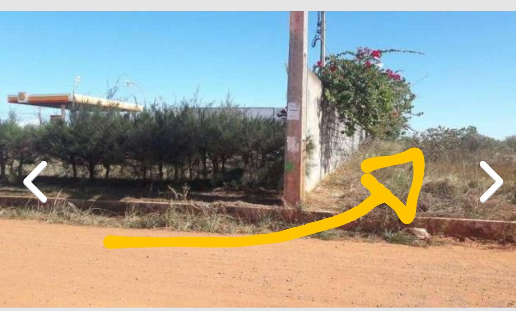 terreno na estrada do coco.
