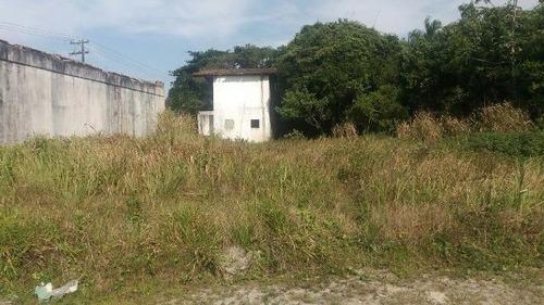 terreno na praia de itanhaém com 311 m2 - 4487/pg