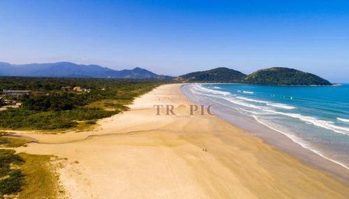 terreno na praia à venda, 504 m² por r$ 250.000,00 - morada praia - bertioga/sp - te0065