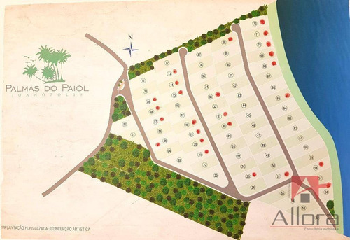 terreno na represa pé na água - condomínio fechado à venda, joanópolis. - te0352