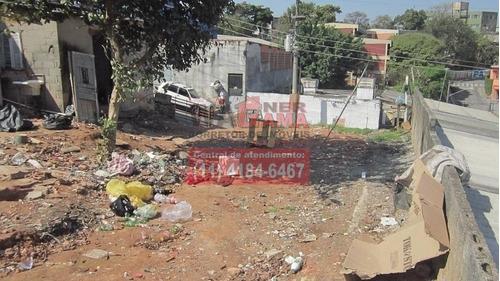 terreno na vila lourdes, carapicuiba, com edícula e banheiro - 943
