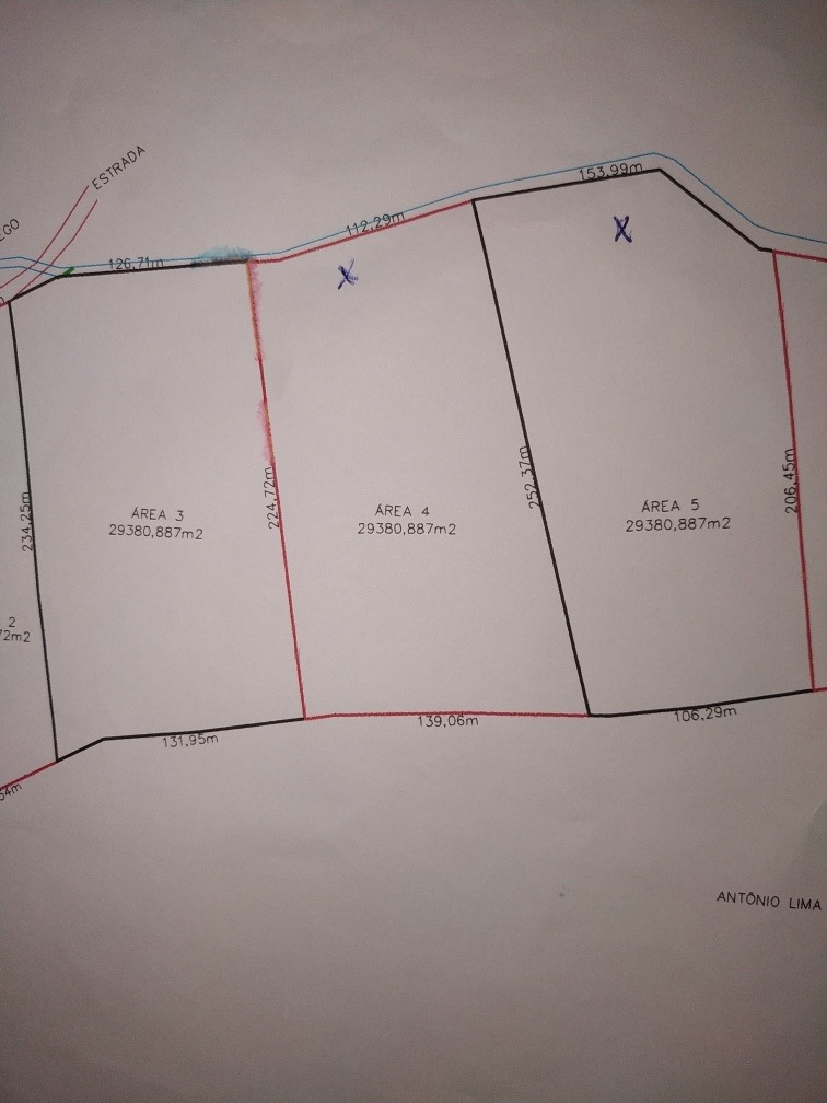 terreno na zona urbana de oratórios - mg no sítio boa vista