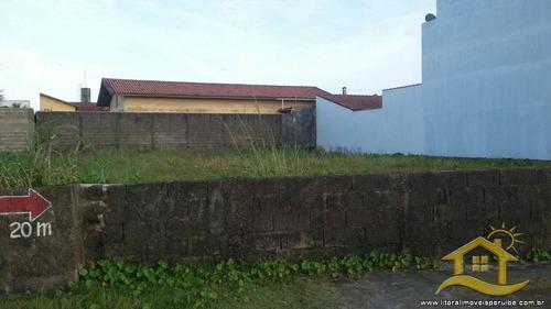 terreno no bairro beira mar em peruíbe - 1529