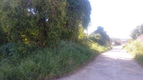 terreno no bairro chácaras itamar, itanhaém - sp