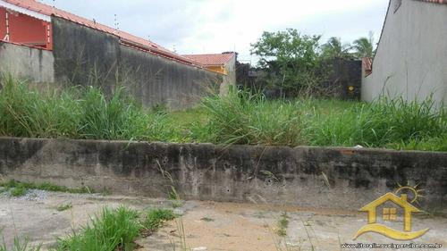 terreno no bairro icaraíba em peruíbe - 241