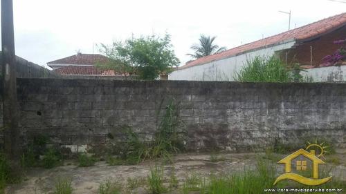 terreno no bairro jardim barra de jangadas em peruíbe - 1694