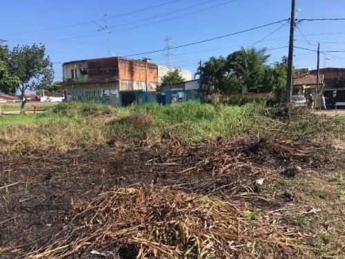 terreno no bairro luizamar mirim em itanhaém 40 m da rodovia