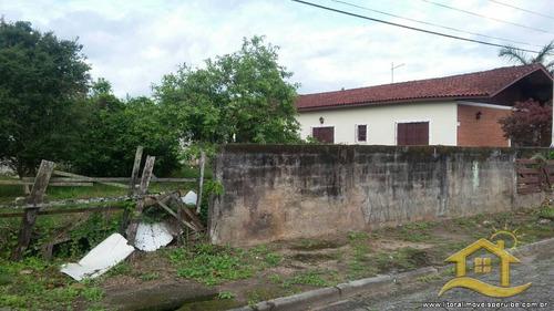 terreno no bairro três marias em peruíbe - 1084
