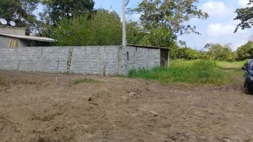 terreno no balneário gaivota, em itanhaém, medindo 137,00 m²