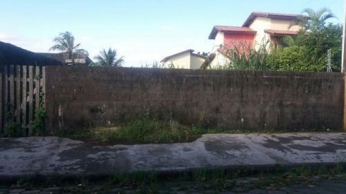 terreno no balneário tupy, em itanhaém, 100 metros do mar