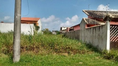 terreno no balneário tupy, em itanhaém, 250m².