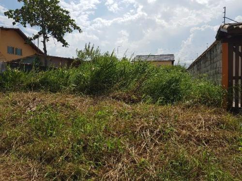 terreno no balneário tupy, em itanhaém, com 250m²