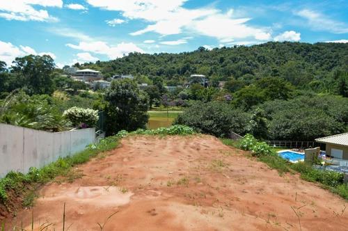 terreno no condomínio porto atibaia com 1.099 m², projeto aprovado e terraplenagem pronta. - te0364