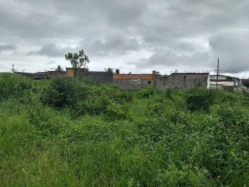 terreno no jardim itapel, em itanhaém, litoral - ref 3712