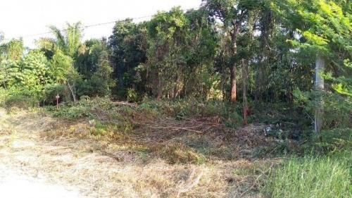 terreno no jardim marambá, em itanhaém, medindo 192m²
