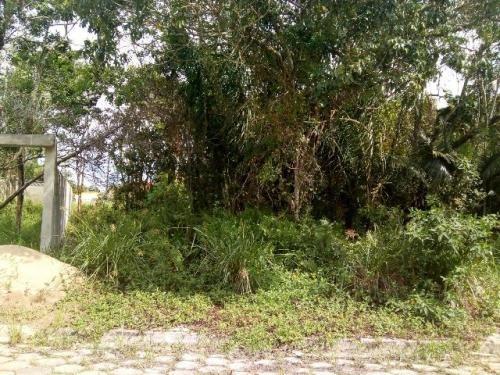 terreno no jardim palmeiras, em itanhaém,  900 metros do mar