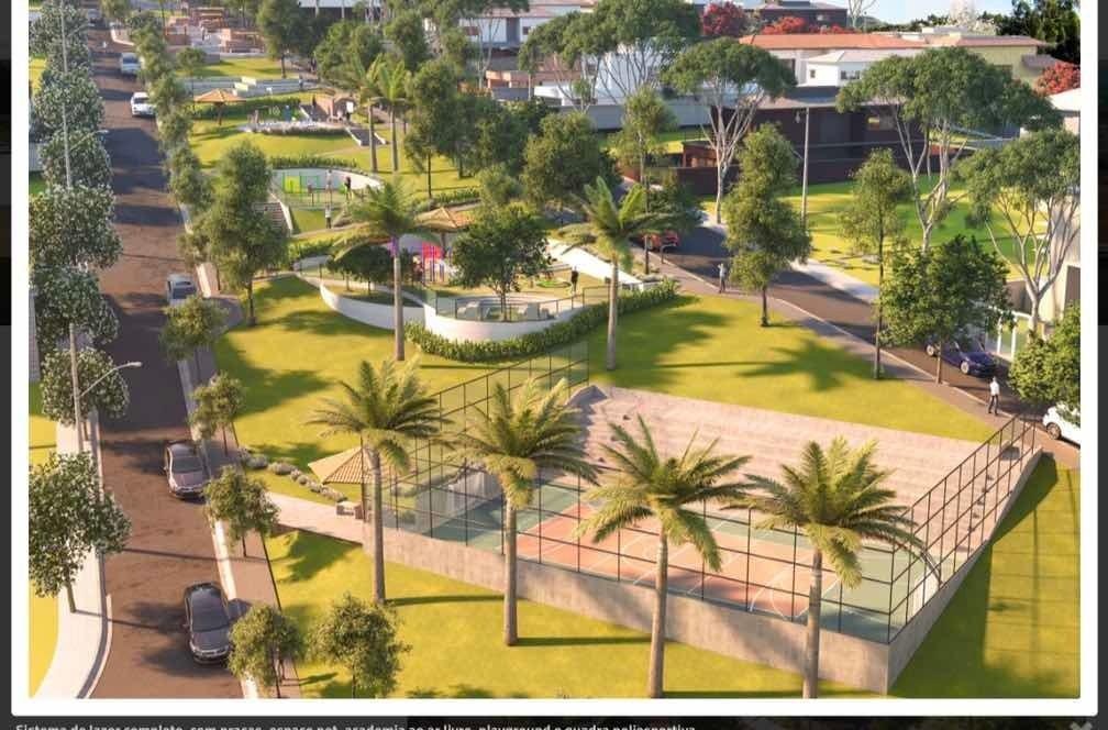terreno no residencial central parque com 301 m²