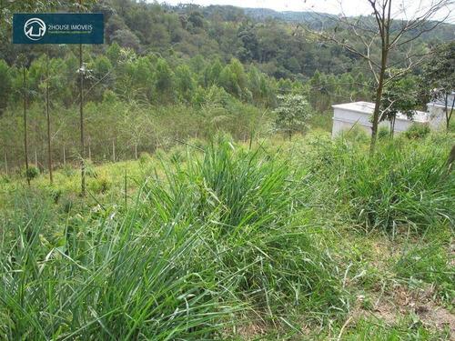 terreno no serra dos cristais, cajamar,sp, aceita veículo como entrada! - te0959