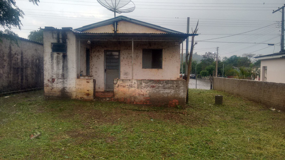 terreno ótimo em restinga seca com casa simples