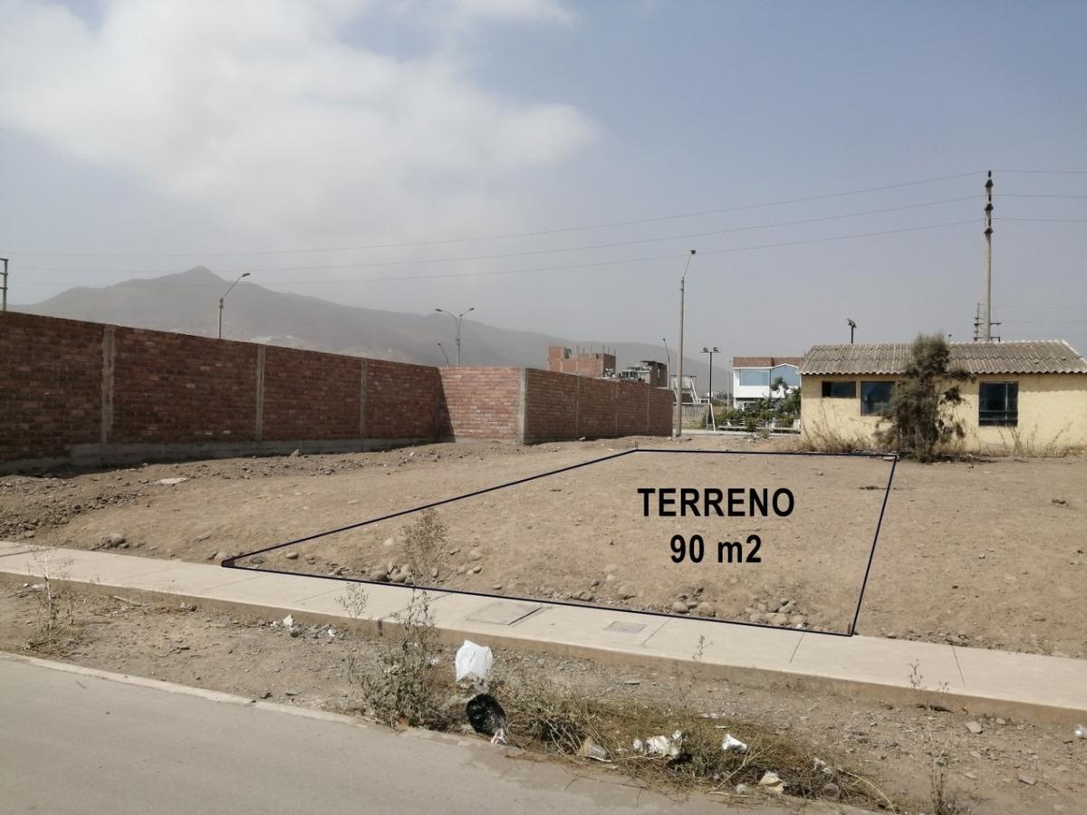 terreno pachacamac 90m2 villa verde