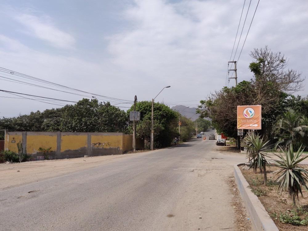 terreno pachacamac avenida reusche mz j - san fernando