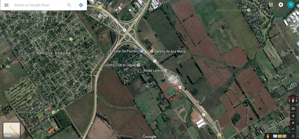 terreno - panamericana km 66 2.7has