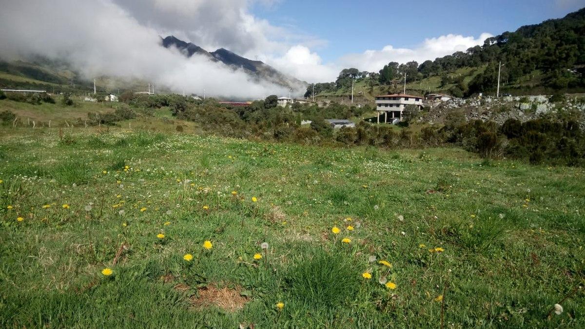 terreno papallacta - tambos