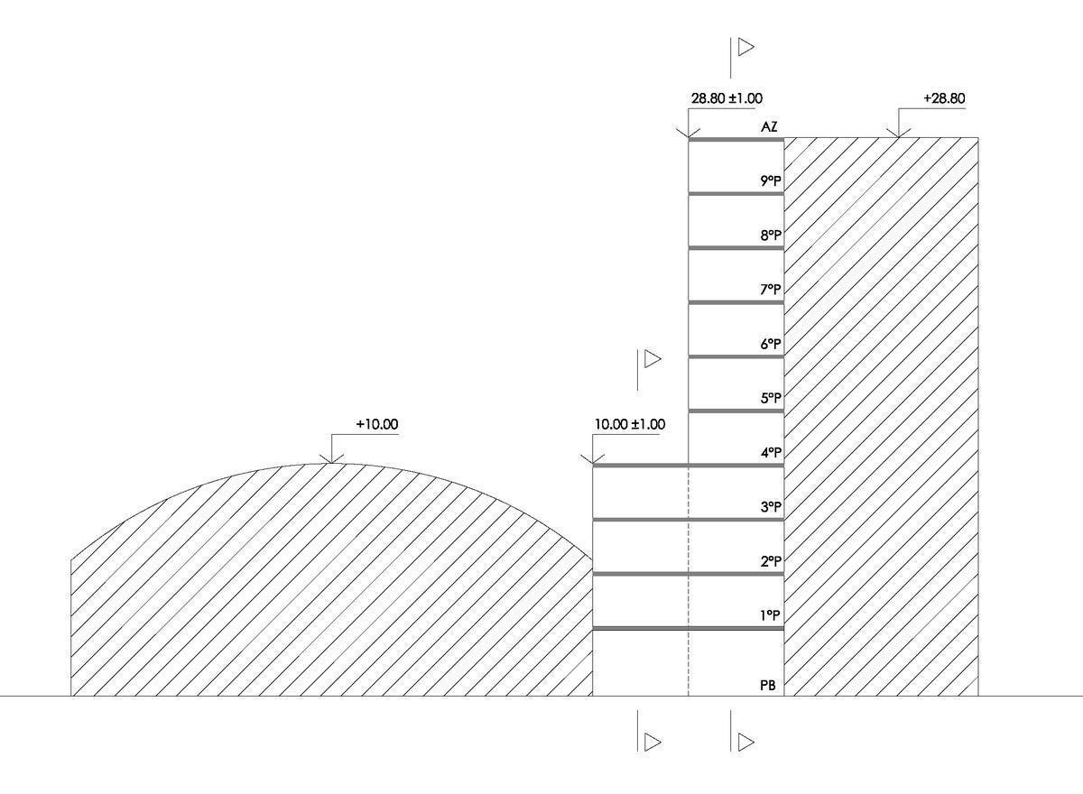 terreno  para 1500 m2 (enrase)- belgrano r