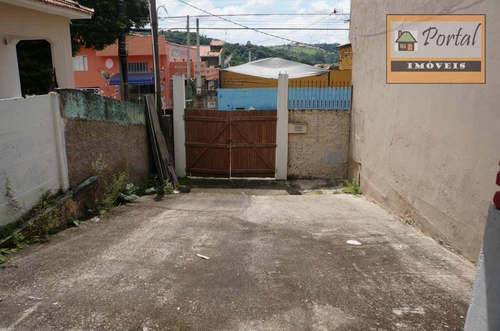 terreno para alugar, 100 m² por r$ 600/mês - vila tavares - campo limpo paulista/sp - te0113