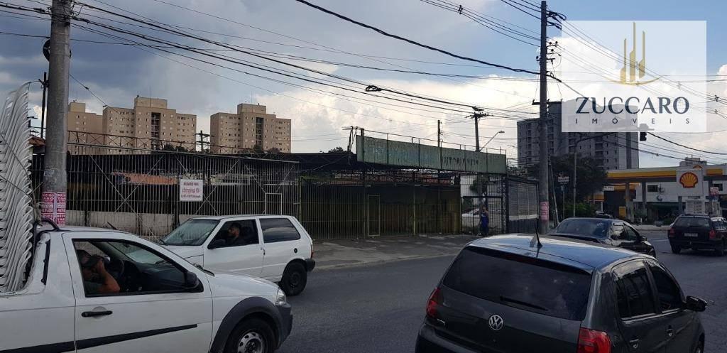 terreno para alugar, 1004 m² por r$ 45.000,00/mês - jardim taboão - guarulhos/sp - te0766