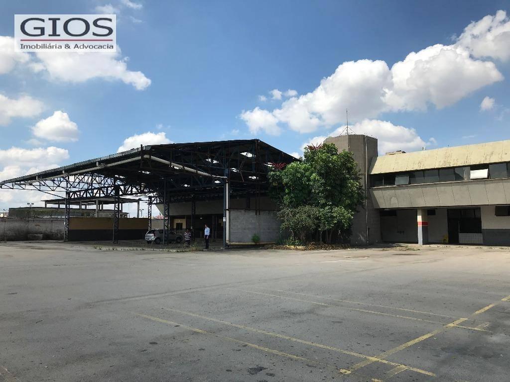 terreno para alugar, 11000 m² por r$ 90.000,00/mês - barra funda - são paulo/sp - te0016